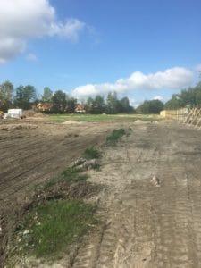 Byggemodning med kloak på sjælland i Fensmark